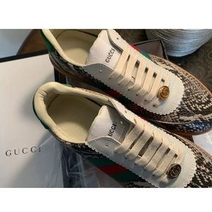 Gucci New with tag & receipt Tennis Shoes Size 40
